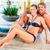 man and woman relaxing in wellness spa stock photo © kzenon