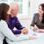 consultor · casal · aposentadoria · planejamento · moderno - foto stock © kzenon