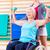 逆立ち · 女性 · トレーニング · ジム · 少女 - ストックフォト © kzenon