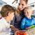 dzieci · jedzenie · candy · kolorowy · światła · jeść - zdjęcia stock © kzenon