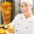 kebab · hot · plaat · vers · ingrediënten · vriendelijk - stockfoto © Kzenon
