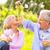 szczęśliwy · piknik · pitnej · wina · starszy · para - zdjęcia stock © kzenon