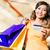 szczęśliwy · kobieta · klienta · karty · kredytowej · moda - zdjęcia stock © kzenon