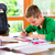 student doing homework assignment stock photo © kzenon