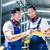 metal · trabalhadores · industrial · oficina · dois · asiático - foto stock © kzenon