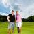 играет · мяч · для · гольфа · гольф · клуба · готовый · выстрел - Сток-фото © kzenon