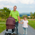 Father with child and baby buggy  stock photo © Kzenon