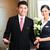 asiático · chinês · hotel · gerente · bem-vindo · vip - foto stock © kzenon