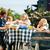 家族 · バーベキュー · パーティ · 子供 · バーベキューグリル - ストックフォト © kzenon