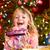színes · karácsony · bokeh · hatás · hó · csillag - stock fotó © kzenon