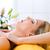 bienestar · mujer · cabeza · masaje · spa · cuerpo - foto stock © kzenon