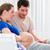 mulher · grávida · homem · entrega · quarto · hospital · mulher - foto stock © kzenon