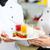 szakács · csapat · étterem · konyha · desszert · együtt · dolgozni - stock fotó © kzenon