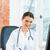 femenino · médico · escrito · pc · clínica · jóvenes - foto stock © kzenon