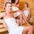 woman enjoying wellness infusion in sauna stock photo © kzenon