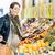 pregnant woman shopping groceries on farmers market stock photo © kzenon