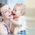 gyermek · korai · oktatás · baba · érettségi · sapka · tart - stock fotó © kzenon