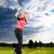 молодые · гольф · Swing · женщины · женщину - Сток-фото © Kzenon