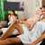 people in wellness relaxation room stock photo © kzenon
