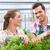 femenino · masculina · jardinero · mercado · jardín · vivero - foto stock © kzenon