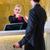 ホテル · 受付 · チェック · 男 · キー · カード - ストックフォト © kzenon