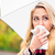 woman having cold or flu due to bad autumn weather stock photo © kzenon