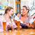 vrienden · speelkaarten · herberg · pub · drinken · bier - stockfoto © kzenon
