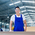 asian carpenter standing in workshop with wood boards stock photo © kzenon