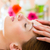 bem-estar · mulher · cabeça · massagem · estância · termal · cara - foto stock © kzenon