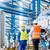ázsiai · gyári · munkás · mérnök · csapat · gép · házhozszállítás - stock fotó © kzenon
