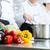 şefler · takım · çalışması · restoran · mutfak - stok fotoğraf © kzenon