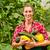 Female gardener in market garden or nursery stock photo © Kzenon