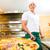 pizzacı · şef · fırın · gıda · restoran · sanayi - stok fotoğraf © kzenon