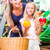 family vegetables grocery shopping in corner shop stock photo © kzenon