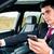 férfi · sms · chat · vezetés · autó · közelkép · tart - stock fotó © kzenon