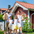 family carrying groceries from car to house stock photo © kzenon