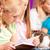érdekes · könyv · függőleges · kép · iskolás · olvas - stock fotó © kzenon
