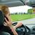 sofőr · beszél · mobiltelefon · telefon · tilos · veszélyes - stock fotó © kzenon