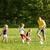 familia · jugando · fútbol · papá · árbol · fútbol - foto stock © Kzenon