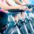 grupy · cztery · kobiet · siłowni · rowerowe · kobieta - zdjęcia stock © kzenon