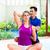 kobieta · fitness · mieszany · asian - zdjęcia stock © Kzenon