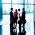 informal · reunión · oficina · lobby · perfil · vista - foto stock © kzenon