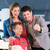 family showing key to newly bought car in showroom stock photo © kzenon
