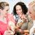 vonzó · hölgyek · pláza · luxus · tavasz · étel - stock fotó © kzenon