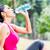 fiatal · nő · testmozgás · park · csinos · napos · idő · fitnessz - stock fotó © kzenon