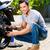 Motor · мотоцикле · подробность · выстрел · власти - Сток-фото © kzenon