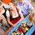 sör · kert · barátok · asztal · harapnivalók · fa - stock fotó © Kzenon