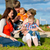 mãe · pai · crianças · caucasiano · menina · sessão - foto stock © kzenon