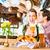 красивый · пару · целоваться · ресторан · любви · женщины - Сток-фото © kzenon