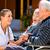 verzorger · gehandicapten · portret · vrouwelijke · verpleeginrichting - stockfoto © kzenon
